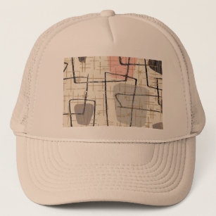 2026ffd7f936d Abstract Geometric Pattern Hats   Caps