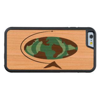 Mid Century Modern Globe Art iPhone 6 Wood Case
