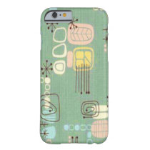 Mid Century Modern Graphic Design iPhone 6 Case