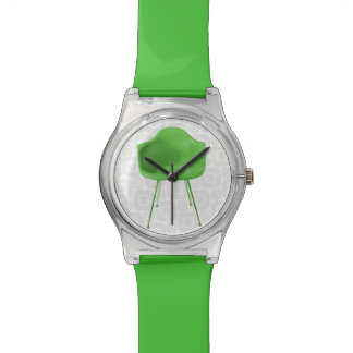 Mid Century Modern Green Chair Wrist Watches