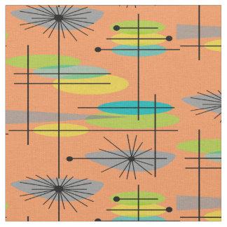 Mid-Century Modern Half Moons Design Fabric 27