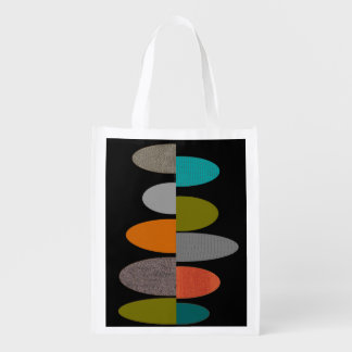 Mid-Century Modern Inspired Tote Bag #18 Grocery Bag