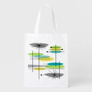 Mid-Century Modern Inspired Tote Bag #1 Reusable Grocery Bag
