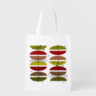 Mid-Century Modern Inspired Tote Bag #2 Market Totes