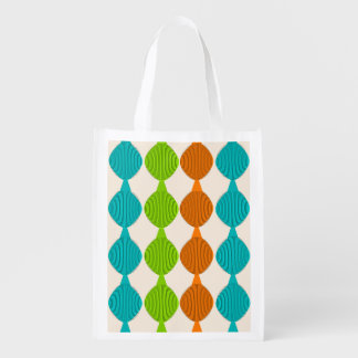Mid-Century Modern Inspired Tote Bag #9 Grocery Bag