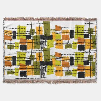 Mid-Century Modern Inspired Woven Blanket #44