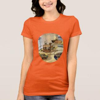 Mid Century Modern Living T-Shirt