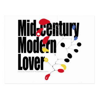Mid Century Modern Lover Post Cards