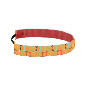 Mid Century Modern Orange Non Slip Headband
