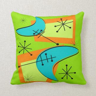 Mid-Century Modern Pillow Atomic 5