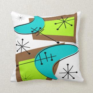Mid-Century Modern Pillow Atomic 6