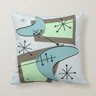 Mid Century Modern Style Pillows : MCMstyle: Designs & Collections on Zazzle
