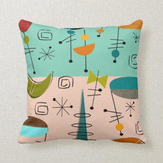 Mid-Century Modern Pillow Ovals Pattern AB