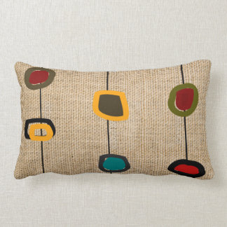 Mid-Century Modern Pillow Rectangles and Circles 3