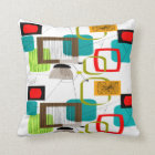 Mid-Century Modern Pillow Rectangles and Circles I