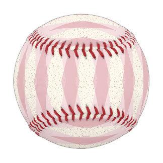 Mid Century Modern Pink Argyle Baseball