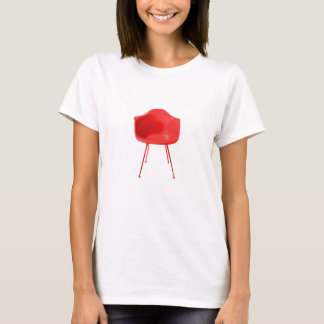 Mid Century Modern Red Chair T-Shirt