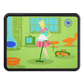 Mid Century Modern Retro Housewife Hitch Cover
