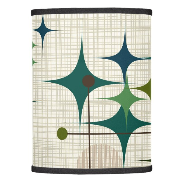 Picture of: Mid Century Modern Starbursts And Globes Lamp Shade Zazzle Com