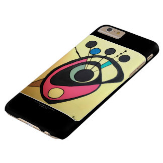 'Mid Century Modern Still Life Yellow' on a Barely There iPhone 6 Plus Case