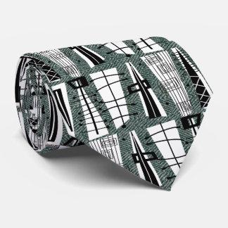Mid-Century Modern Tie for Men #49