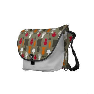 Mid Century Retro Courier Bag