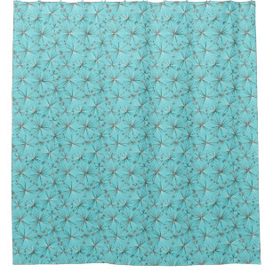 Robin Egg Blue Shower Curtains