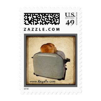 Mid-Century Toaster Stamp