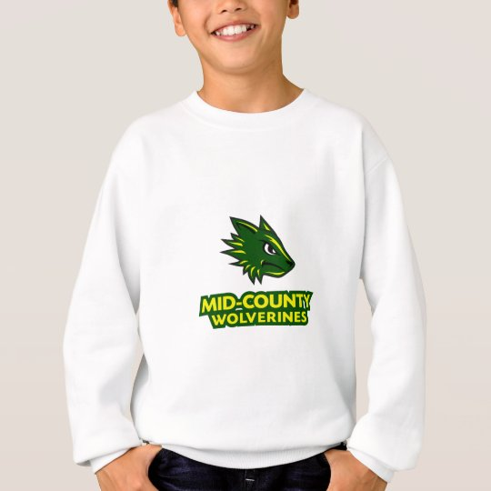 Mid-County Wolverines Football Sweatshirt