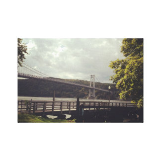 Mid Hudson Bridge  Small wrapped Canvas