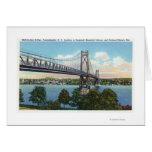 Mid-Hudson Bridge to Roosevelt Nat'l Historic Greeting Card