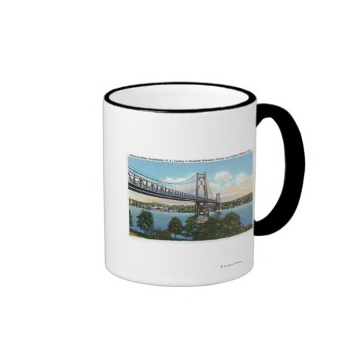 Mid-Hudson Bridge to Roosevelt Nat'l Historic Mugs