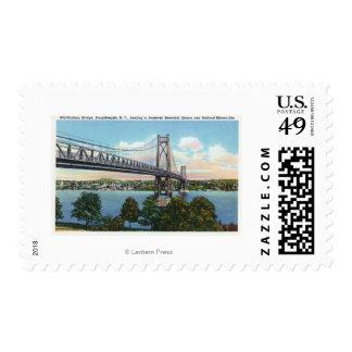 Mid-Hudson Bridge to Roosevelt Nat'l Historic Stamps
