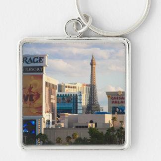 Mid Las Vegas Strip keychain square