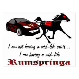 Mid-Life Rumspringa Postcard