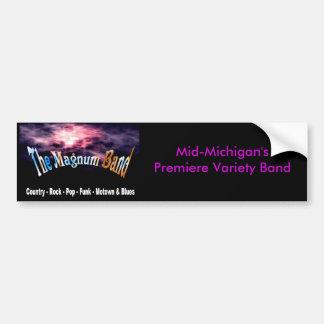 Mid-Michigan's Premiere Variety Band Bumper Sticker