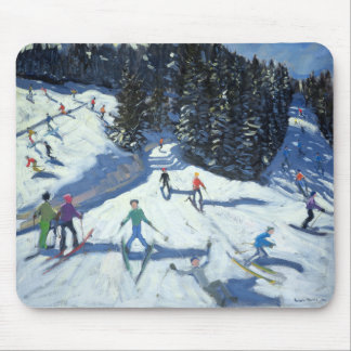 Mid-morning on the Piste 2004 Mouse Pad