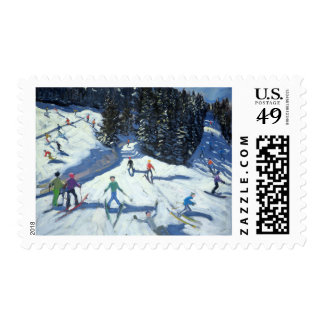 Mid-morning on the Piste 2004 Postage