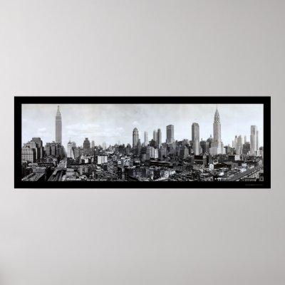 Mid-New York skyline Photo