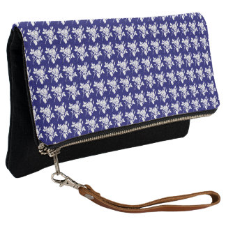 Mid-Night-Rose's-Style-Vintage-Multi-Colors Clutch