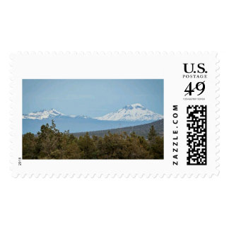 Mid Oregon Cascade Mountains Postage