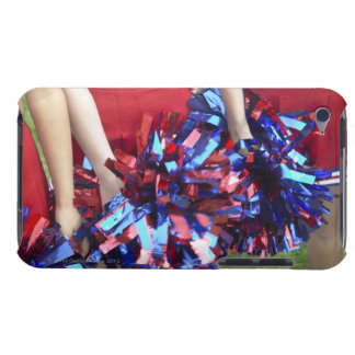 Mid Section View of Three Cheerleaders Barely There iPod Cover