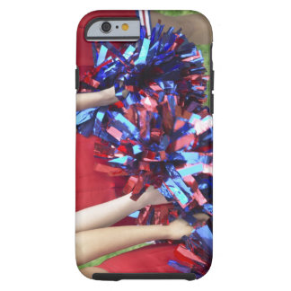 Mid Section View of Three Cheerleaders Tough iPhone 6 Case