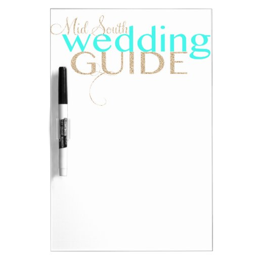 Mid South Wedding Guide Dry Erase Whiteboard