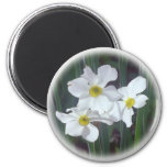 mid-spring floral selections 2 inch round magnet