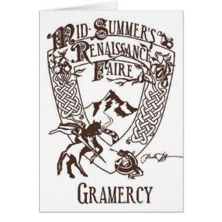 Mid-Summer's Rennaissance Faire Greeting Card