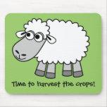 ¡Mida el tiempo para cosechar las cosechas! (Culti Alfombrilla De Ratones