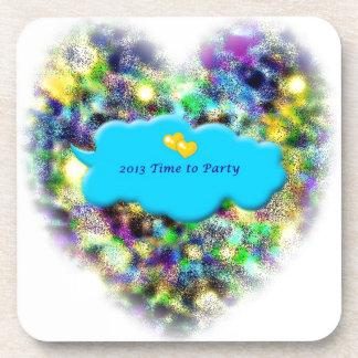 Mida el tiempo para ir de fiesta 2013 Años Nuevos  Posavaso