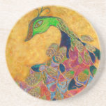 midas (painting) drink coaster