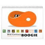 Midcentury Boogie Calendar 2015 *reprinted*